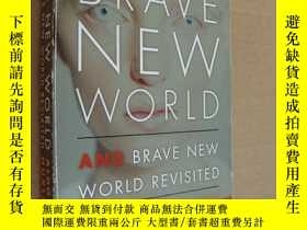 二手書博民逛書店BRAVE罕見NEW WORLD & Brave new wor