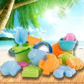 嬰幼兒童沙灘玩具套裝寶寶玩沙子工具挖沙小鏟子玩水桶男女孩小孩 igo 小時光生活館
