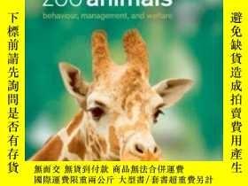 二手書博民逛書店Zoo罕見Animals: Behaviour Management And Welfare-動物園動物:行為管理