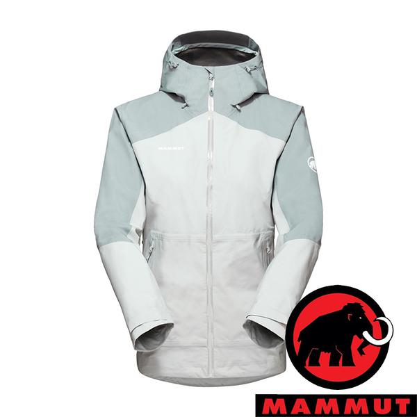 【MAMMUT 長毛象】Convey女GT單件式連帽外套『公路灰』1010-28800 登山 外套 羽絨 保暖 禦寒