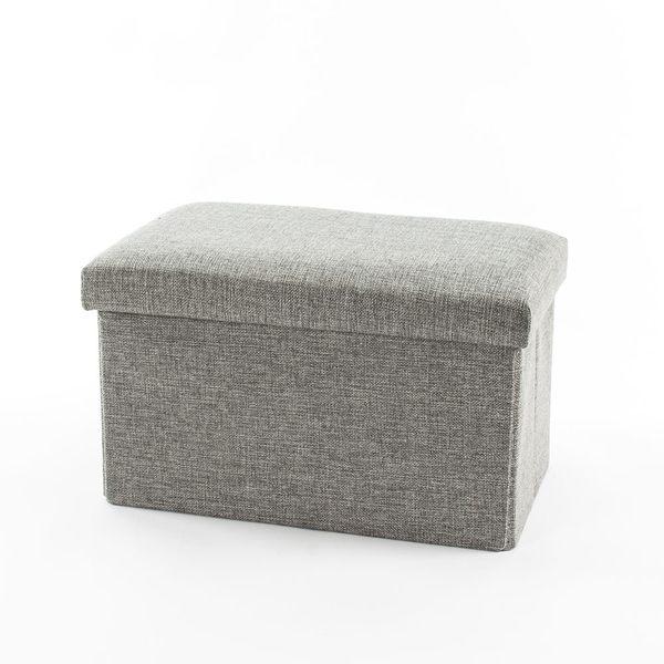 收納凳-2入組 椅凳 收納椅 折疊收納箱-25L 穿鞋椅【免運】儲物凳 腳凳【A036】