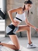 運動內衣 運動內衣女防震跑步背心前拉鏈防下垂聚攏專業高強度健身瑜伽文胸 曼慕衣櫃