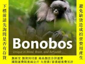 二手書博民逛書店Bonobos:罕見Unique In Mind, Brain,