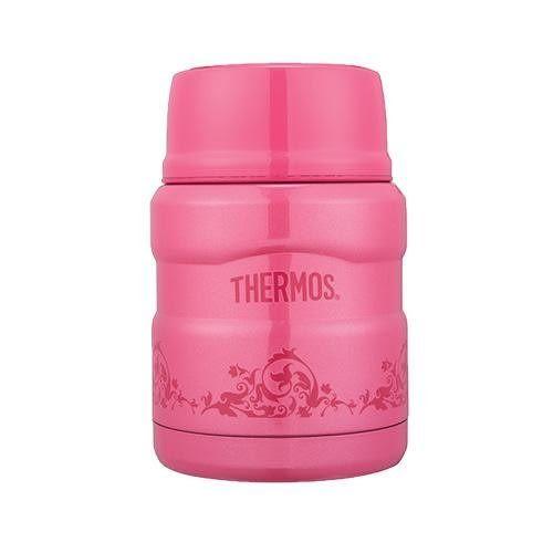 THERMOS 膳魔師 不鏽鋼 真空燜燒食物罐 / 燜燒杯 SK3000MR-PRP / SK-3000 紅莓歐蕾 / 桃色