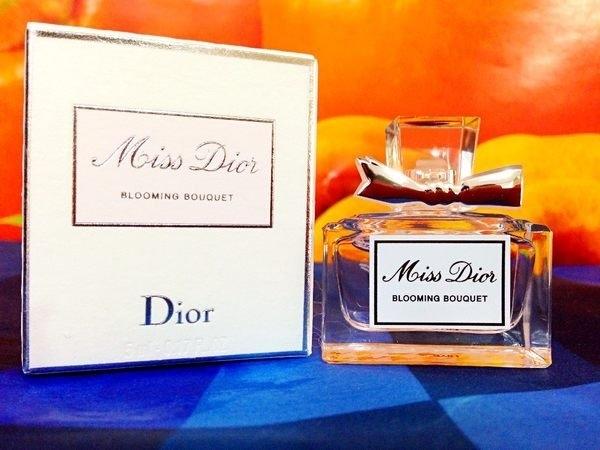 ☆阪神宅女☆DIOR Miss Dior BlOOMING BOUQUET 花漾迪奧淡香水5ml 小樣盒裝