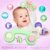 新生兒幼兒手搖鈴嬰兒玩具0-3-6-12個月寶寶男女孩8益智牙膠1歲5    琉璃美衣
