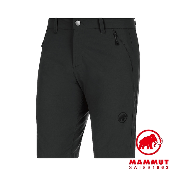 Mammut 長毛象 Hiking Shorts Men 經典健行短褲 黑色 男款 #1023-00120