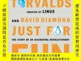 二手書博民逛書店Just罕見For FunY307751 Linus Torvalds; David Diamond Harp