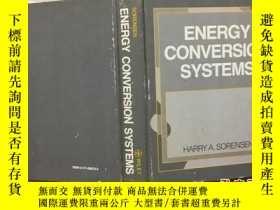 二手書博民逛書店ENERGY罕見CONVERSION SYSTEMS 能量轉換系