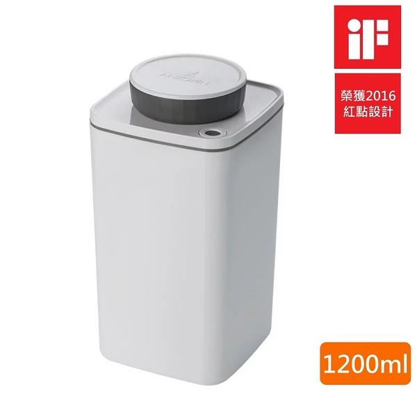 【樂品食尚】ANKOMN Turn-N-Seal 無耗電旋轉真空保鮮盒(白)1200ml