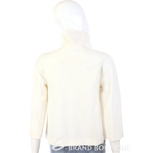 ANTONIO FUSCO 米白色立領設計七分袖外套 0940337-20