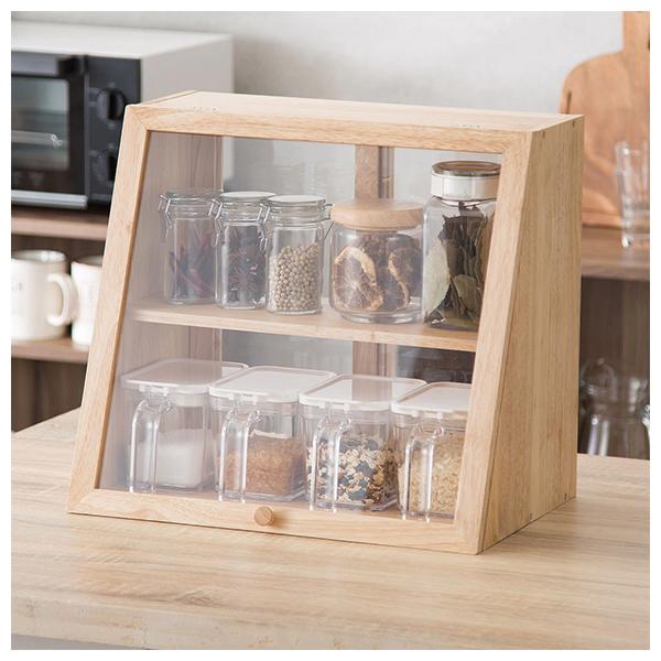 木製透明麵包盒 HI NA NITORI宜得利家居