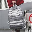 【特價290元】率性織條袋尼龍防水後背包.東京靚包.Wind.B1-2