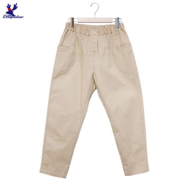 【下殺↘5折】American Bluedeer - 剪接休閒褲 春夏新款