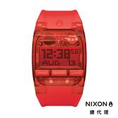 【官方旗艦店】NIXON COMP 運動電子錶 紅