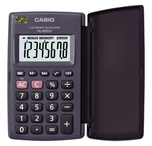 卡西歐CASIO 國考8位大螢幕計算機  國家考試 攜帶型