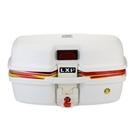 機車後尾箱-超大容量可放2頂全罩安全帽手提摩托車置物箱用品4色(特大款)73q5【時尚巴黎】