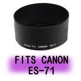 ROWA 專用型遮光罩 ES-71 適用 CANON EF-50  F1.4