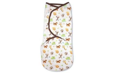 [寶媽咪親子館] 美國Summer Infant/SwaddleMe 懶人包巾 嬰兒包巾純棉【L號】54410