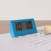 鬧鐘 迷你時鐘桌面上小鬧鐘數字電子日本簡約學生學習考研靜音小巧便攜【快速出貨八折搶購】