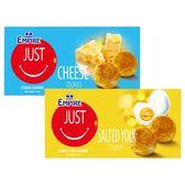 雙盟 乳酪酥/鹹蛋黃酥/腰果酥/芝麻酥(120g) 款式可選【小三美日】