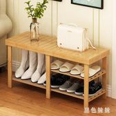 換鞋凳門鞋櫃鞋架童鞋歐式多層組合客廳凳子收納柜美式簡易鞋櫃 js8513『黑色妹妹』