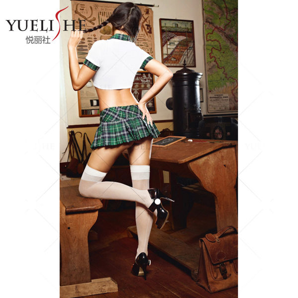 ♥♥衣美姬♥歐美學生妹 角色扮演 性感誘惑兩件式套裝 熱賣款