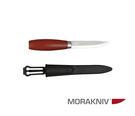 丹大戶外用品【MORAKNIV】瑞典  CLASSIC 2 高碳鋼經典木工刀 赭紅 1-0002