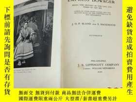 二手書博民逛書店【罕見原版 】1910年版《皇太后(慈禧)統治下的中國 CHIN