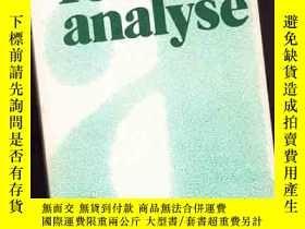 二手書博民逛書店罕見TEXT-ANALYSE【175】Y10970 DIESTE