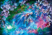 【拼圖總動員 PUZZLE STORY】櫻花與少女(作者:溝口周一) 日本進口拼圖/AppleOne/繪畫/1000P