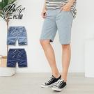 牛仔短褲 抽繩鬆緊丹寧短褲【NW619021】