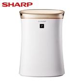 SHARP夏普空氣清淨機FU-G50T-W【愛買】