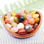 紅錦添水晶石瑪瑙石原石彩色裝飾小石子盆栽水培植物裝飾魚缸石頭 【快速出貨】