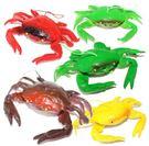 [協貿國際]仿真動物海鮮模型環保軟膠螃蟹...