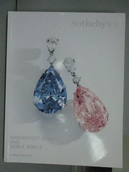 【書寶二手書T5/收藏_QNC】Sotheby s_Magnificent Jewels and…2017/5/16