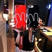 手機殼 烤瓷手機殼iPhone6splus硅膠X軟套8p蘋果7p掛繩潮女款創意萌可愛