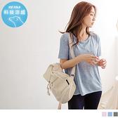 《KS0541-》台灣製造~木醣醇涼感花紗前短後長運動上衣 OB嚴選
