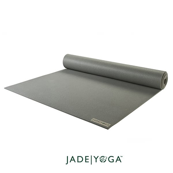 Jade Yoga 天然橡膠瑜珈墊 Harmony Mat 4.8mm 173cm - 頁岩灰