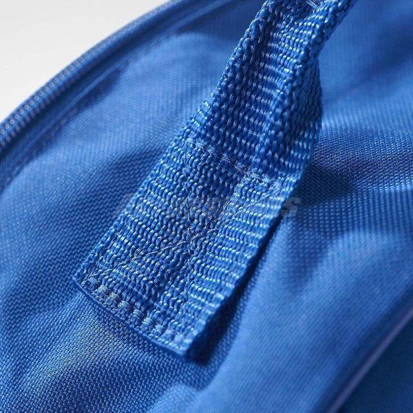 adidas 後背包 Originals Trefoil Backpack 男女款 基本款 藍 白 雙肩背 書包 三葉草 【PUMP306】 BK6722