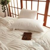 日式聚乙烯薄膜枕頭 成人學生枕芯單人裝枕頭芯一對拍2件 雙十二全館免運