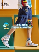 男童短褲 男童裝短褲純棉兒童運動五分褲子外穿夏季中大童薄款潮牌 【風之海】