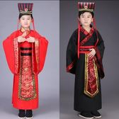 兒童古裝男童漢服漢唐朝皇帝大王太子龍袍攝影寫真表演出服裝 蘇迪蔓