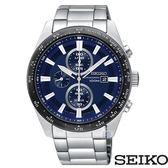 SEIKO 精工 SSC647P1 (V176-0AV0B) 太陽能 三眼計時 男錶