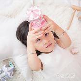 木玩甄選旋轉木馬音樂盒兒童生日禮物風玩具 QW8435『夢幻家居』