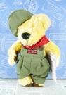 【震撼精品百貨】日本日式精品_熊_Bear~絨毛娃娃-紅領巾