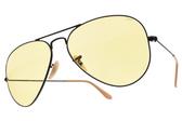RayBan 太陽眼鏡 RB3025 90664A (黑-黃鏡片) 經典人氣款 飛官墨鏡  # 金橘眼鏡