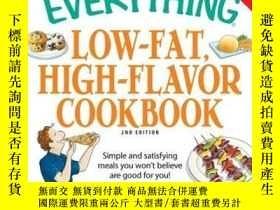 二手書博民逛書店The罕見Everything Low-Fat, High-Flavor CookbookY410016 Li