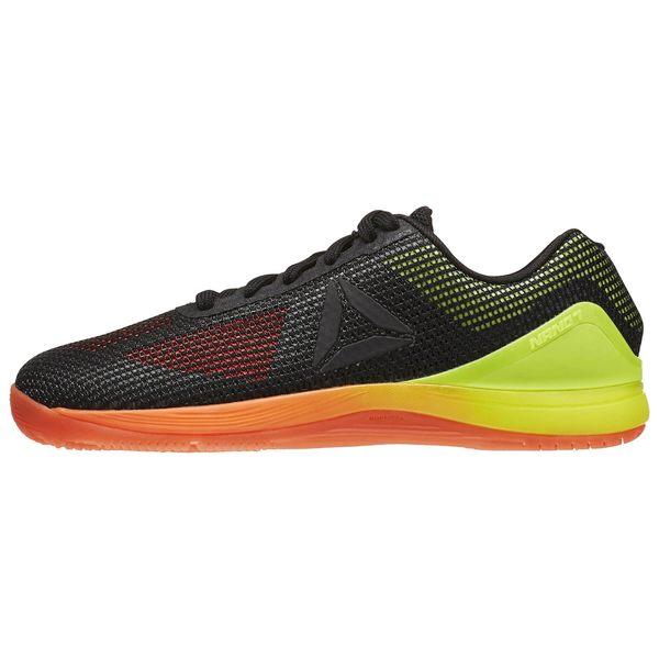 REEBOK CROSS  FIT NANO 7 女鞋 健身 訓練 網布 透氣 舒適 膠底 耐磨  黑 黃 橘  【運動世界】BD2830