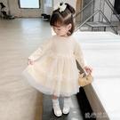 快速出貨 女童洋裝兒童裝女童長袖洋裝寶寶裝嬰兒打底衫2020新款洋氣小童公主裙